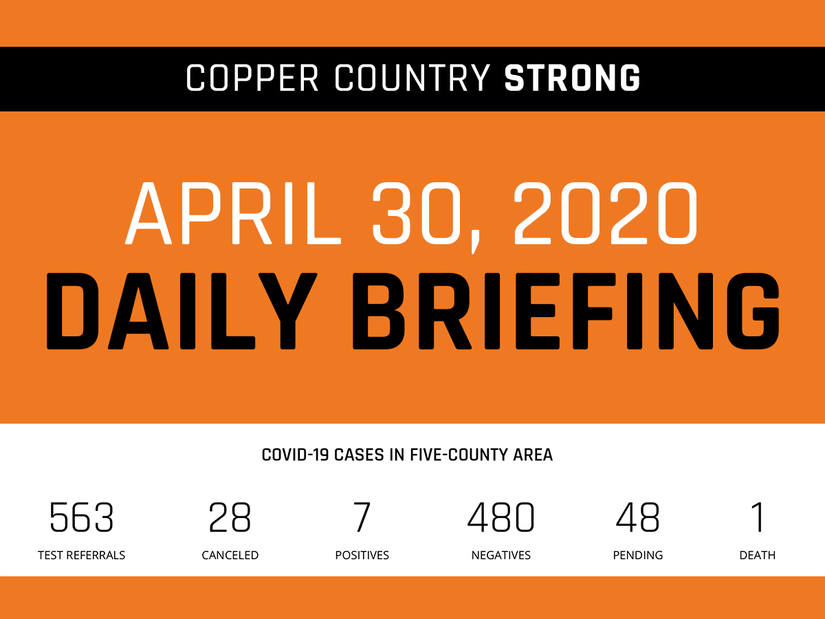 April 30 Daily Briefing