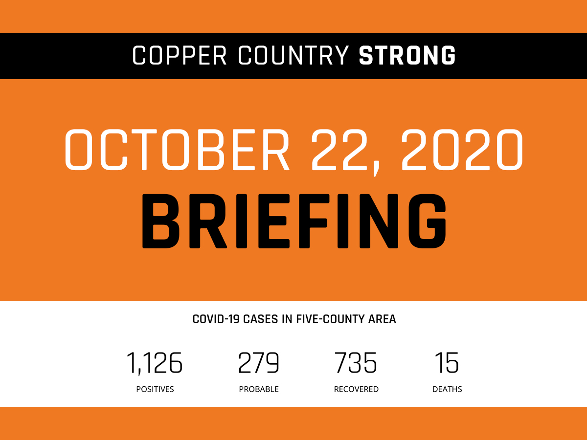 October 22 Briefing