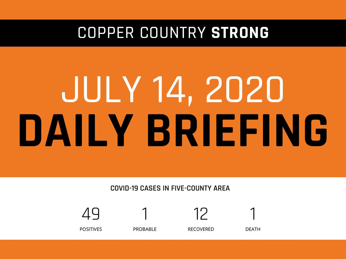 July 14 Daily Briefing Graphic